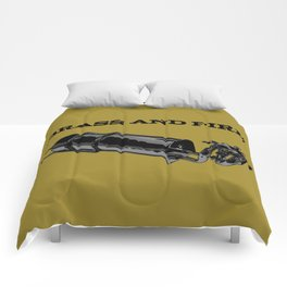 Brass and Fire Pressure Stove Comforters