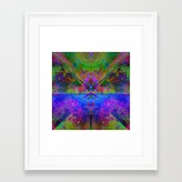 avatar Framed Art Prints featuring Avatar by Assiyam