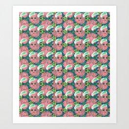 Runts Candy Girl Art Print