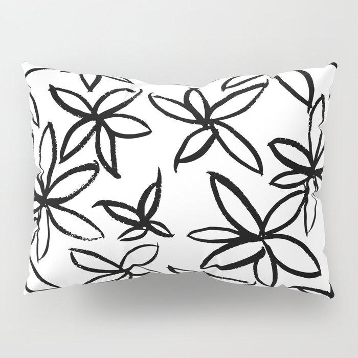 Big Floral Pillow Sham
