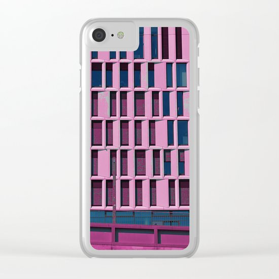 #114 Clear iPhone Case