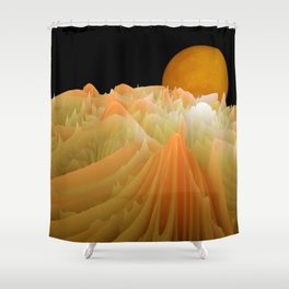 experiments on fractals -2- Shower Curtain