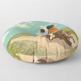 STORM CHASERS Floor Pillow