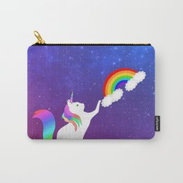 Unicorn Cat Toy Carry-All Pouch