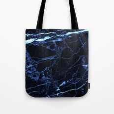 blue marble Tote Bag