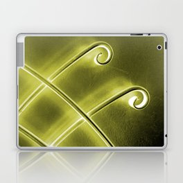 Papillon d'or Laptop & iPad Skin
