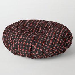 DP pattern Floor Pillow