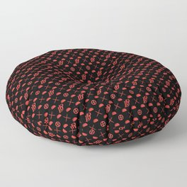 DP pattern Floor Pillow