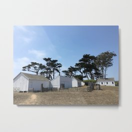 SUMMER RANCH Metal Print
