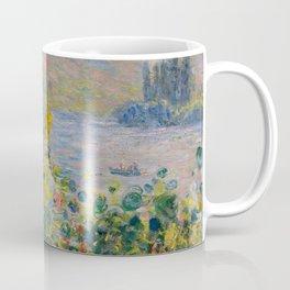 "Claude Monet ""Flower Beds at Vétheuil"" Coffee Mug"