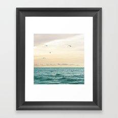 Seascape No. 3 Framed Art Print