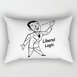 Liberal Logic - Ha Ha Ha Rectangular Pillow