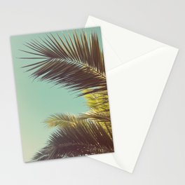 Autumn Palms Stationery Cards