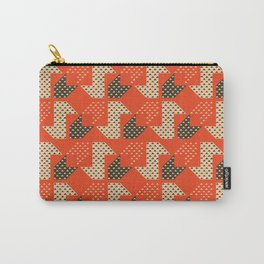 Clover&Nessie Apple/Choco Carry-All Pouch