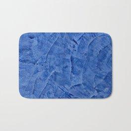 Beautiful Vibrant Light Blue Plaster #society6 #bluedecor #blue Bath Mat