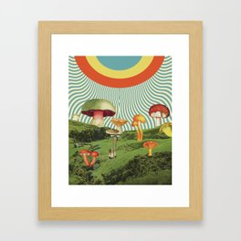 Shroomscape Framed Art Print