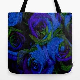 Funky Roses V Tote Bag