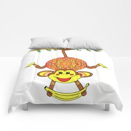 MONKEY MANDALA CHILDREN Comforters