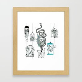 Life in a pot. Framed Art Print