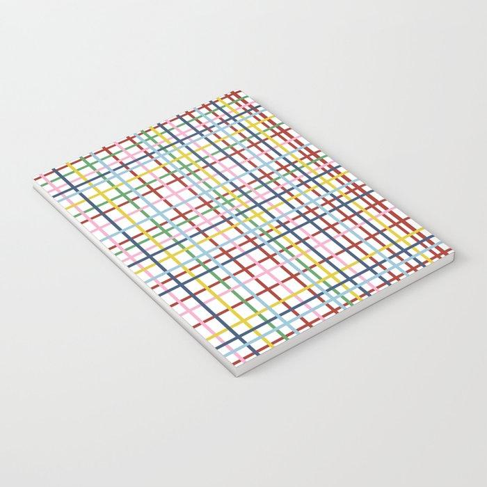 Rainbow Weave Notebook