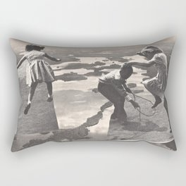 Just Be Back In Time For Supper Rectangular Pillow