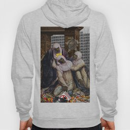 Stigmata & Skittles, Mothers Mourning in the time of BLM (2018, after G. A. Bazzi 1526) Hoody