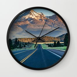 The Road to Shasta. Wall Clock