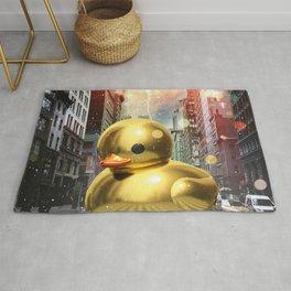 The Golden Rubber Duck Rug
