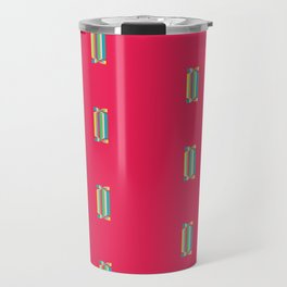 Sweets Print. Pink and Sweety Travel Mug