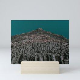 Reynisdrangar x Icelandic Sea Cliffs Mini Art Print