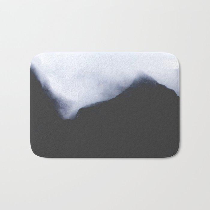 Mountain fog Bath Mat