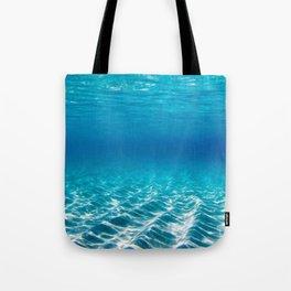 Aqua Blue Bliss Tote Bag