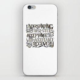 Understanding quote iPhone Skin