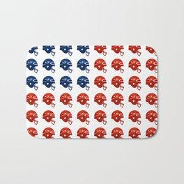 American Football Flag Bath Mat