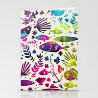 under the sea Stationery Cards featuring Under The Sea by 83 Oranges™