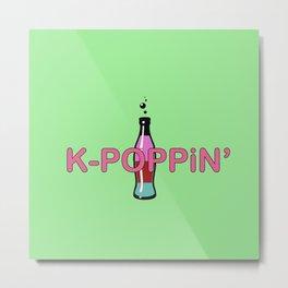 K-Poppin' Metal Print