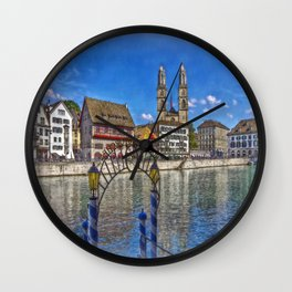 The Limmat Town Wall Clock