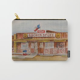 The Broken Spoke - Austin's Legendary Honky-Tonk Watercolor Painting Carry-All Pouch