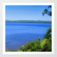 Russell Island Water View Art Print
