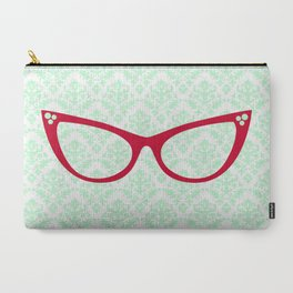 Red Specs Carry-All Pouch