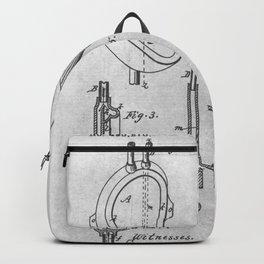 Urinal bowl Backpack