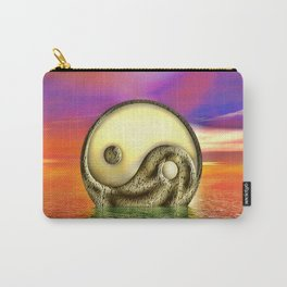 Ying Yang  Zeichen Carry-All Pouch