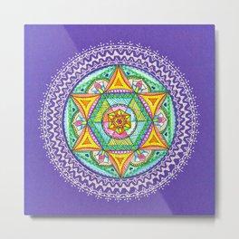 Healing Power Star Metal Print