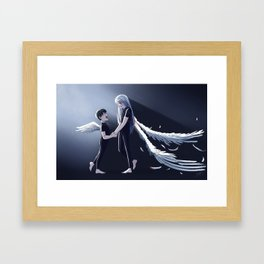 Broken Wings Framed Art Print