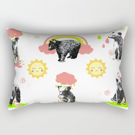 Happy Bears Rectangular Pillow
