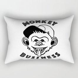 Monkey Business Rectangular Pillow