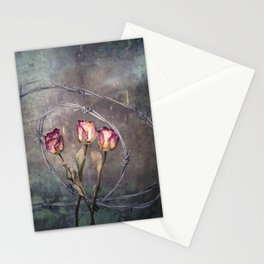 Trapped Roses Stationery Cards