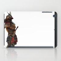 samurai iPad Cases featuring Samurai by Alba Palacio