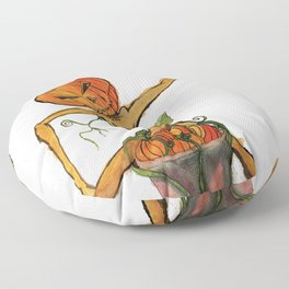 Halloween Head: Primping and Pruning Floor Pillow