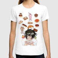 death note T-shirts featuring L from Death Note by Naineuh